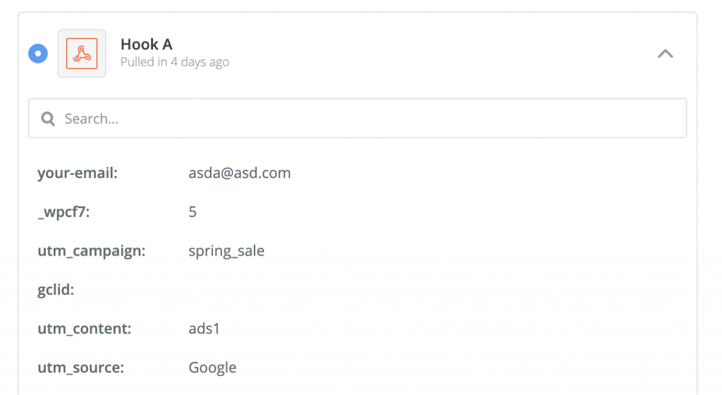 You can also check your test by going to Zapier's Test this Step section